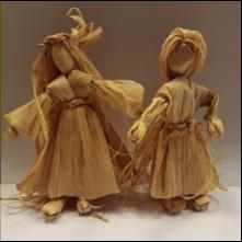 Figuren aus Maisblättern   7-12 Jahre   16:00 - 17:00 Uhr
